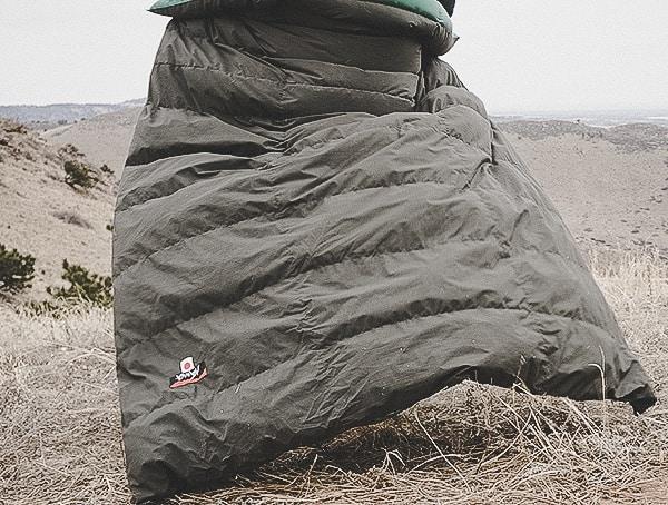 Olive Nanga Takibi Kake Futon Review Kevlar Down Blanket