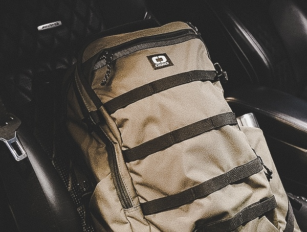 Olive Ogio Alpha Convoy 525 Backpack Review In Gwagen Front Seat