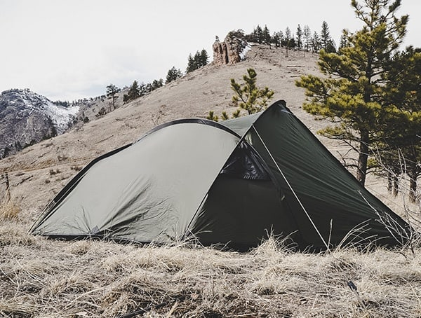 Olive Snugpak Scorpion 3 Person Camping Tent Review