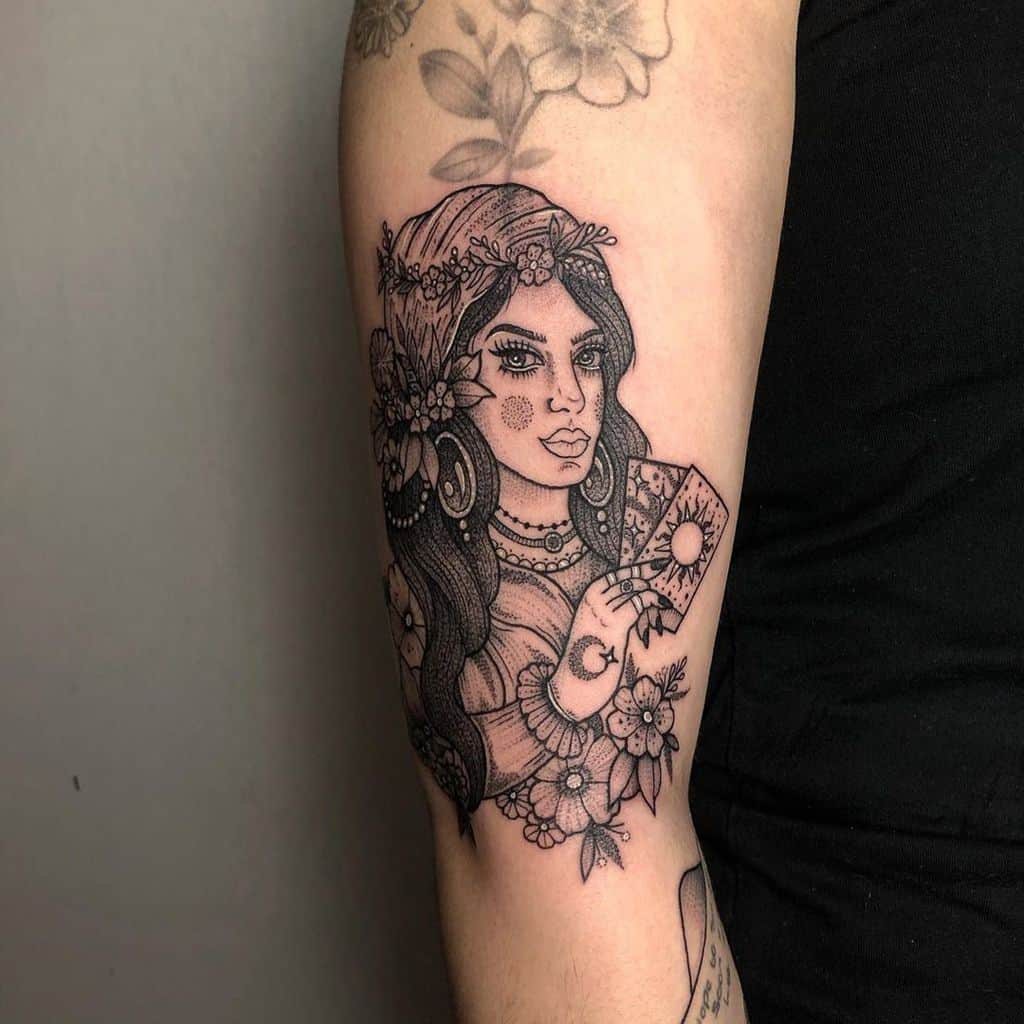 Olivia Gypsy Tattoo