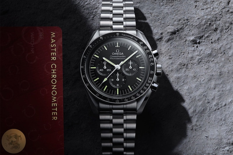 OMEGA's Classic Speedmaster Moonwatch Gets a Modern Makeover