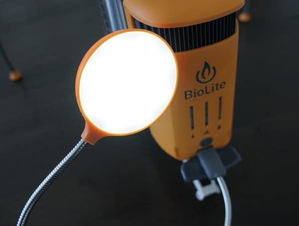 On Board 2600mah Battery With Usb Flexible Light Biolite Campstove 2 Bundle