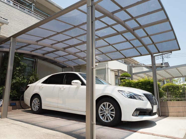 One Car Garage Modern Carport Ideas