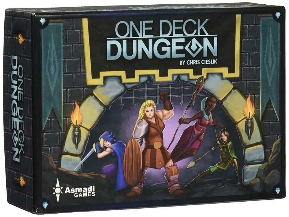 asmadi games one deck dungeon board game