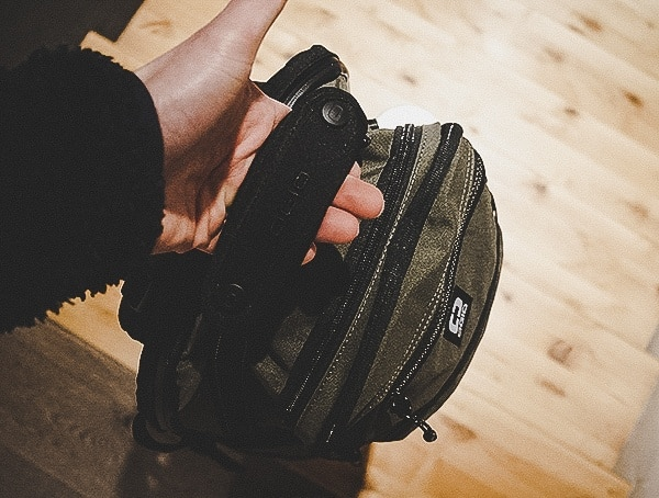 One Handed Carry Top Handle Olive Ogio Alpha Convoy 525 Backpack Review
