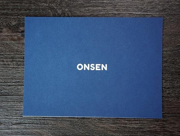 Onsen Towel Print Instructions Card