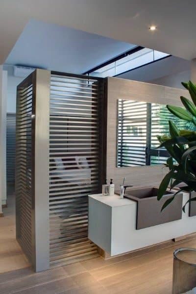 Open Bedroom Cool Bathrooms Ideas