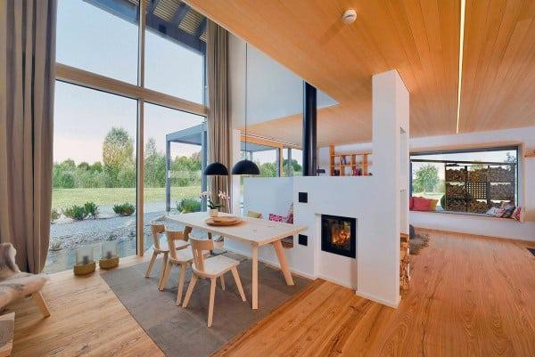 Open Floor Plan Breakfast Nook Ideas