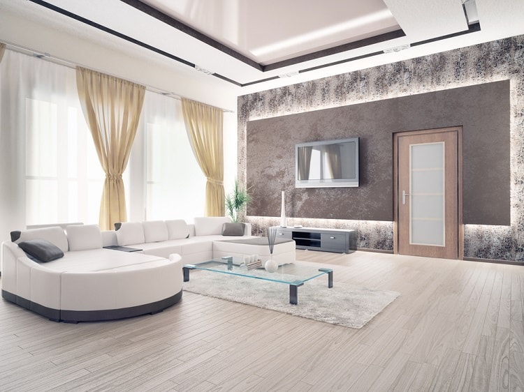 Open Floor Plan Cove Lighting Ceiling Ideas