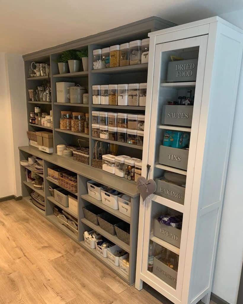 Open Pantry Shelving Ideas