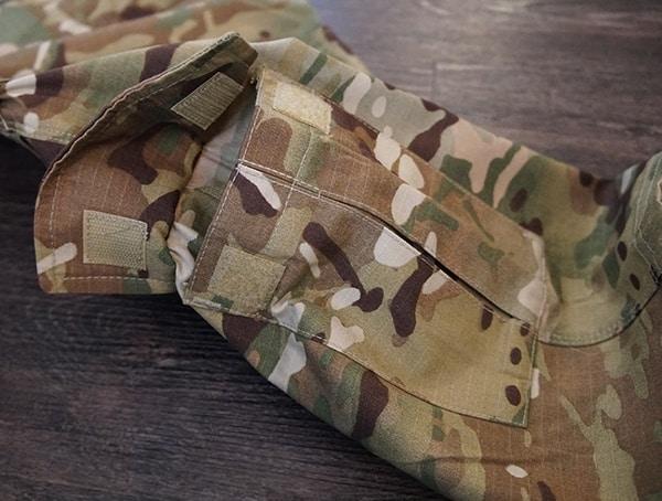 Open Pocket Multicam Tactical Pants For Men