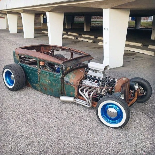Open Roof Badass Rat Rods