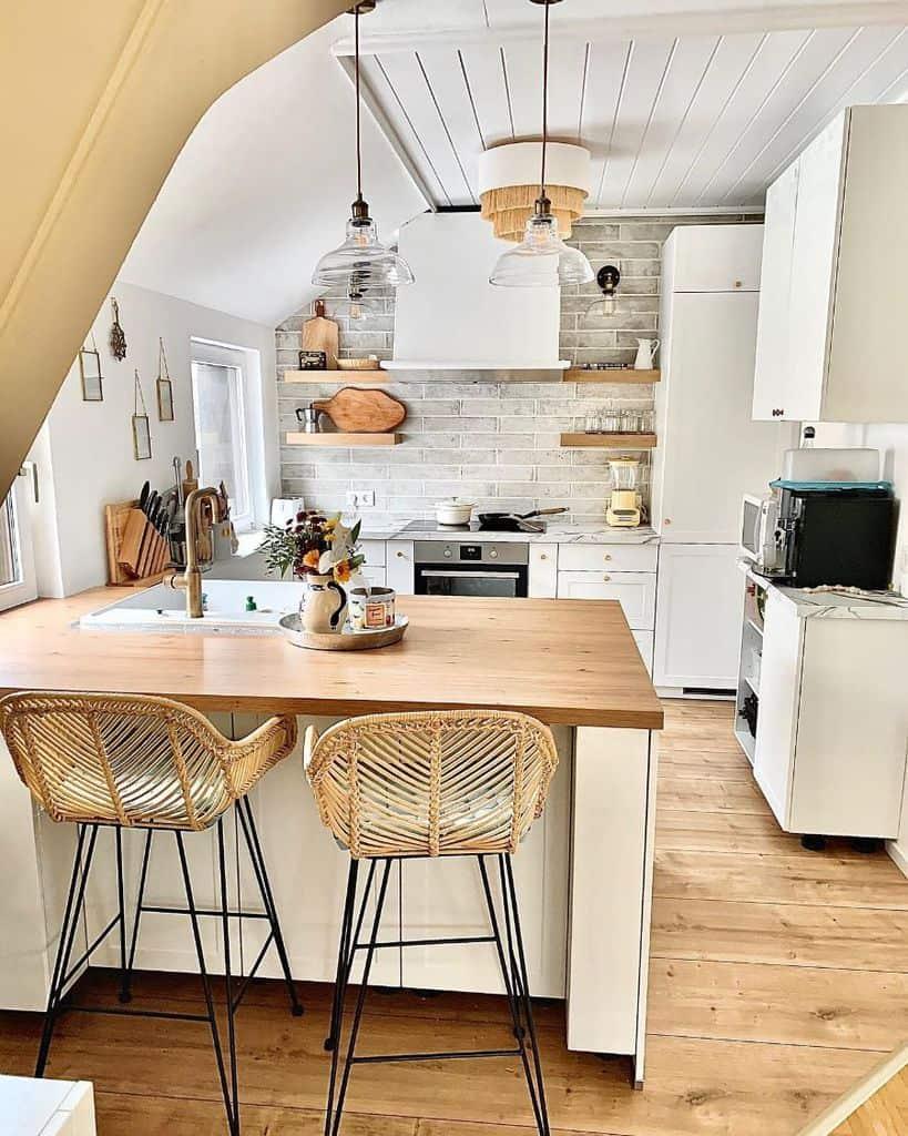 open shelves kitchen wall decor ideas blackforestlass