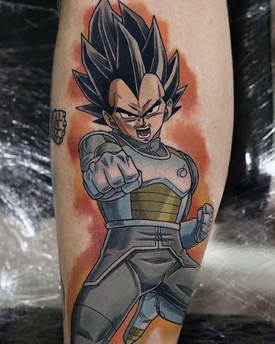 Orange Background Tattoos