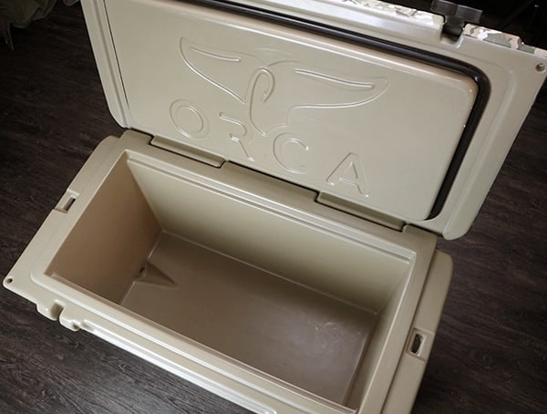 Orca 75 Cooler Review Interior Storage