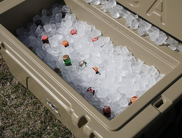 Orca 75 Cooler Reviews 44lbs Of Ice