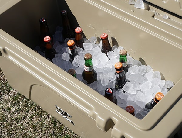 Orca 75 Qt Cooler Review 22lbs Of Ice