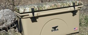 ORCA Cooler Review – Tan 75 Quart With Multicam Camo Hydro Dripped Lid