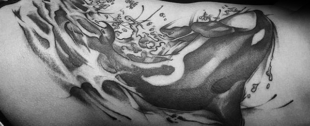 Orca Tattoo Designs For Men