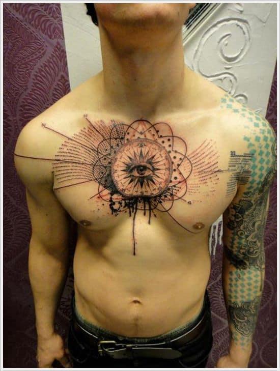Ordinary Third Eye Tattoo