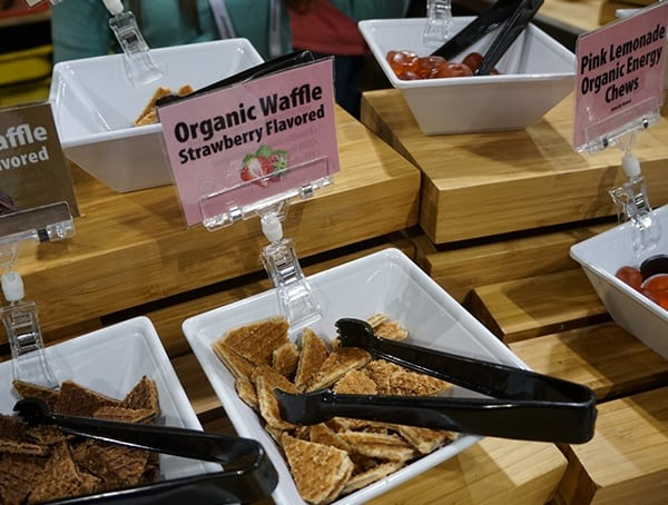 Organic Waffle Strawberry Honey Stinger Honey Bars