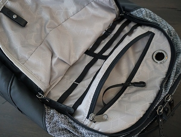 Organization Pockets Smarter Than Most Myth Backpack Interior