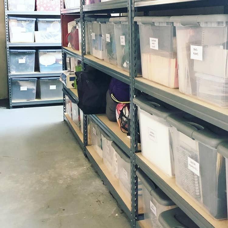 Organize Aesthetic Bin Basement Storage