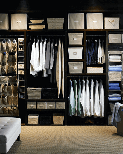 Organized Mens Closet Design Inspiration