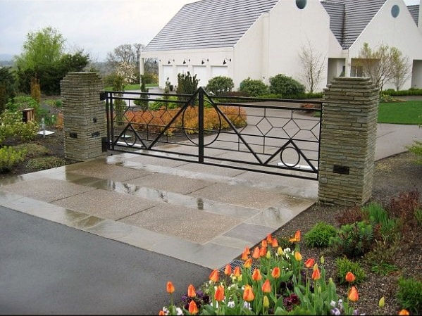 Ornate Ideas For Driveway Gates