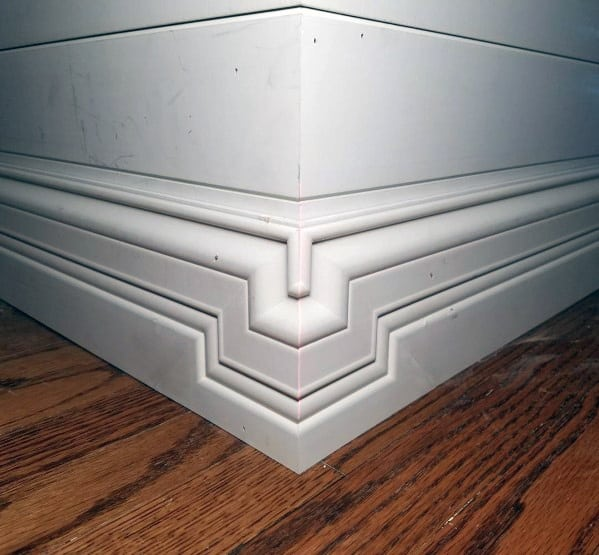 Top 40 Best Modern Baseboard Ideas - Luxury Architectural
