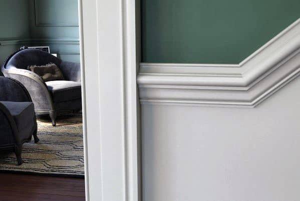 Ornate Wood Moldings Ideas For Chair Rail