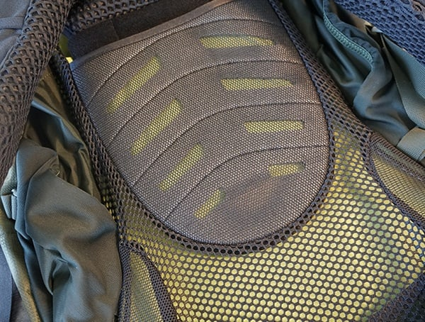 Osprey Aether Ag 85 Review Back Mesh Panel