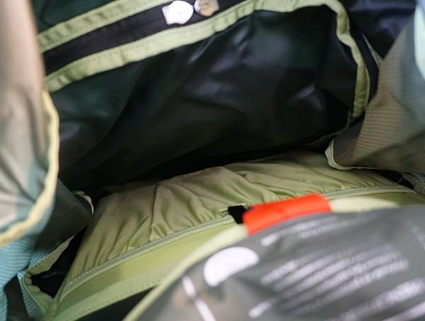 Osprey Aether Ag 85 Review Main Cargo Compartment