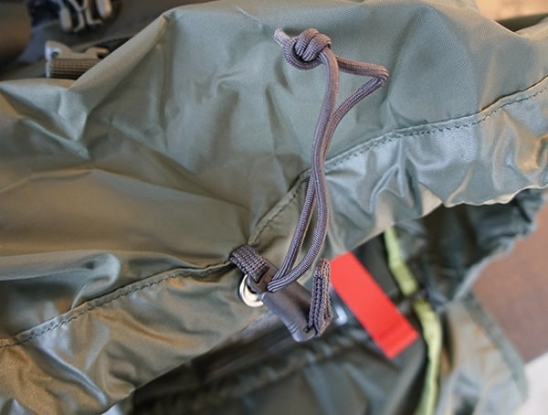 Osprey Aether Ag 85 Review Pull Closure