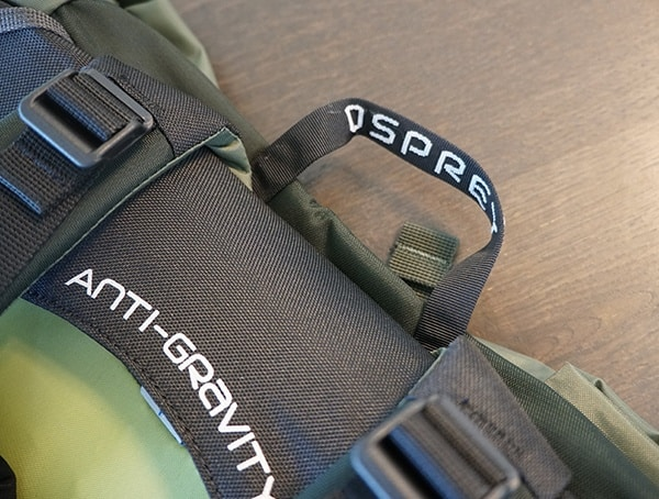 Osprey Aether Ag 85 Review Top Pull Handle