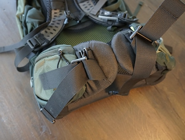 Osprey Aether Ag 85 Review Waist Belt