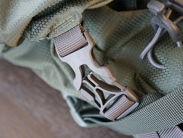Osprey Aether Ag 85 Second Lid Removeable Buckle Attachement