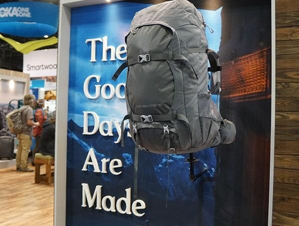 Osprey Hiking Backpack Sage Green Outdoor Retailer Winter Market