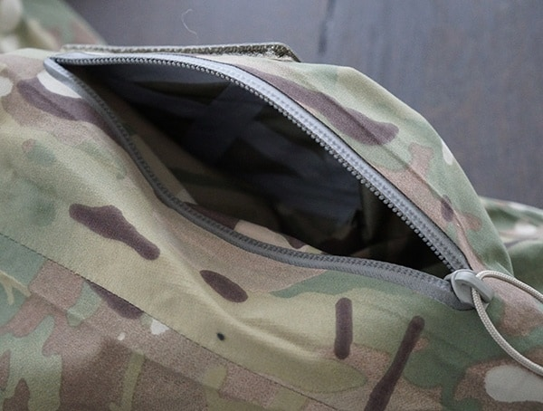 Otte Gear Patrol Parka For Men Zippered Arm Pocket Open