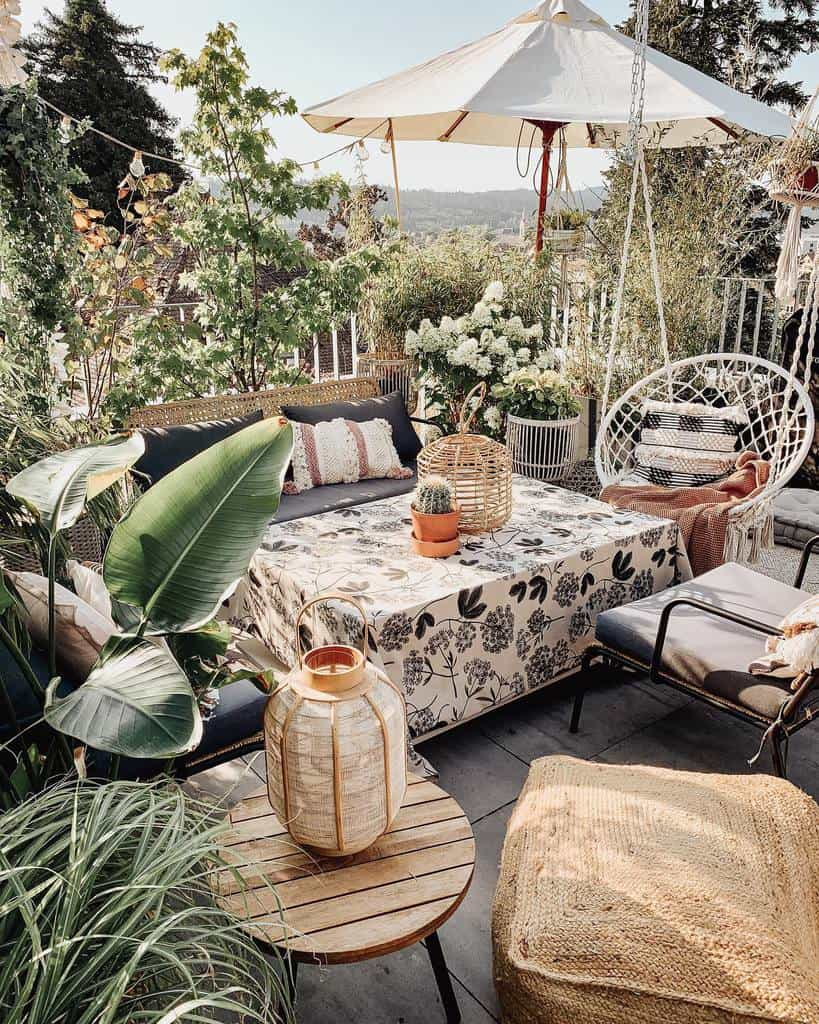 outdoor apartment patio ideas homestylepassion