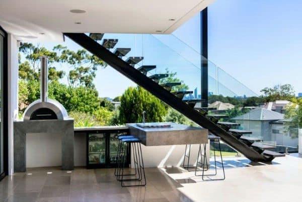 Outdoor Backyard Bars Designs