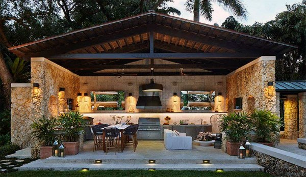 Outdoor Backyard Pavilion Designs