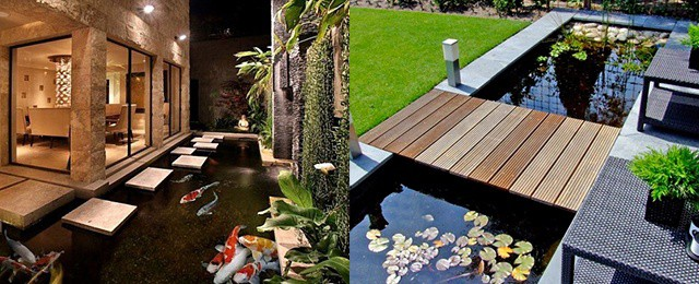 Outdoor Backyard Pond Ideas
