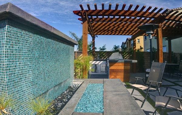 Outdoor Backyard Waterfalls Ideas