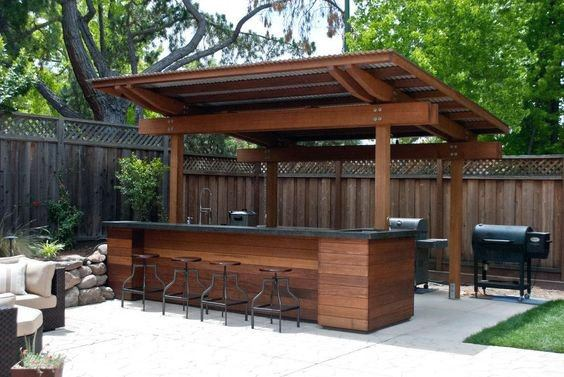 Outdoor Bar Design