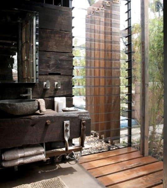 Outdoor Bathroom Design