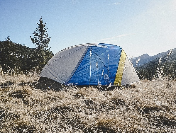 Outdoor Camping Review Sierra Designs Sweet Suite 3 Tent In Forest