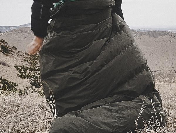 Outdoor Camping Takibi Kake Futon Down Blanket Review