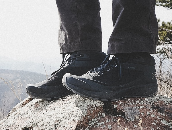Outdoor Field Test Arcteryx Aerios Fl Mid Gtx Shoe For Men