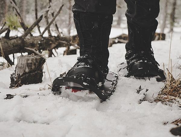 Outdoor Field Test Black Msr Lightning Ascent Snowshoes